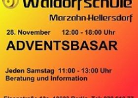1. Adventsbasar der Waldorfschule Marzahn-Hellersdorf am 28.11.2009
