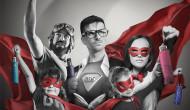 Seit 70 Jahren den Regen fest im Griff!  Schirmspezialist doppler krönt 70-jähriges Jubiläum mit neuer Superhelden-Kampagne für Bestseller-Modell Carb