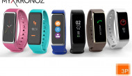 3P launcht dritte Generation des Activity Trackers MyKronoz ZeFit3