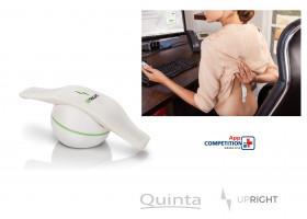 Rückenmuskulatur in Echtzeit mit UpRight am Arbeitsplatz trainieren