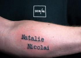 SKIN46, Erfinder Der Ersten Tattoo-Tinte Aus Haaren Eines Geliebten Menschen Feiert Das Welt Erste Tattoo