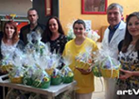 Spendenaktion zu Ostern der artViper Marketingagentur für die Kinder- und Jugendklinik in Weiden