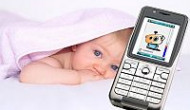 Babyphone-Handy mit hoher Reichweite