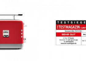 ETM Toastertest: Kenwood kMix Allroundtalent im Retrodesign holt sich den Testsieg