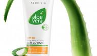 Sonnenschutz und Feuchtigkeitsboost mit bis zu 70 % Aloe Vera