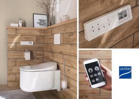Neues sanibel Washlet bietet umfassendes Hygiene- und Bedienkonzept für optimalen Komfort