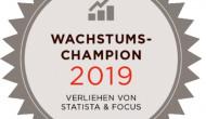 Ausgezeichnet: Gute Marken Online unter den Top 25 der Wachstumschampions 2019