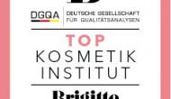 """Das Magazin """"Brigitte"""" zeichnet zusammen mit der DGQA Top-Kosmetikinstitute aus"""