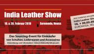 India Leather Show am 19. + 20. Februar 2019 in Neuss