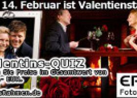 Valentinstag 2011 – AllesRahmen startet Quiz für Verliebte