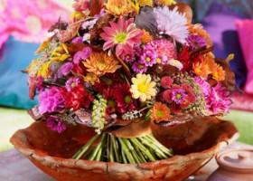 Experimentierfreude pur: Deko-Wunder Chrysantheme