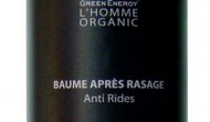 NEU VON GREEN ENERGY ORGANICS: L´ Homme Organics After Shave Balm