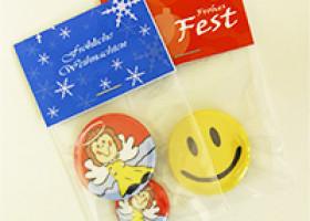 Buttons – die idealen Geschenke zum Weihnachtsfest